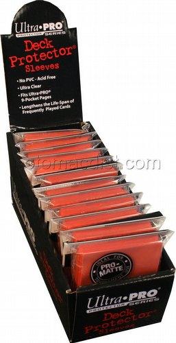 Ultra Pro Pro-Matte Standard Size Deck Protectors Box - Peach