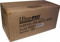 Ultra Pro Pro-Matte Standard Size Deck Protectors Case - White [10 boxes]