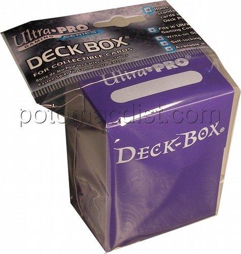 Ultra Pro Purple Deck Box Case [30 deck boxes]