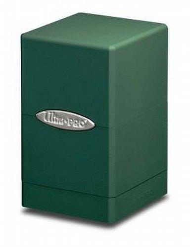 Ultra Pro Satin Tower Green Deck Box