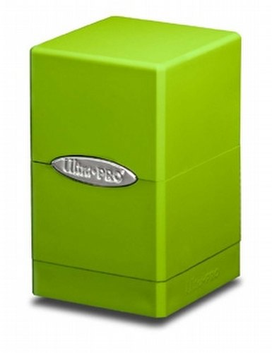 Ultra Pro Satin Tower Lime Green Deck Box