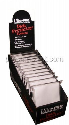 Ultra Pro Standard Size Deck Protectors Box - White