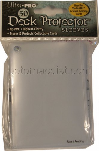 Ultra Pro Size Deck Protectors Pack - Clear