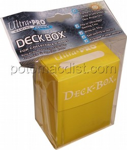Ultra Pro Yellow Deck Box Case [30 deck boxes]