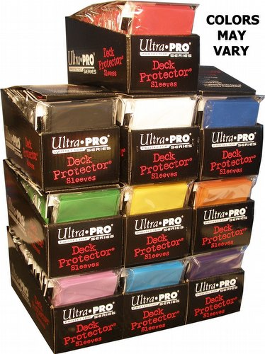 Ultra Pro Size Deck Protectors Case - Mix of Colors [Our Choice/62x89mm/10 boxes]