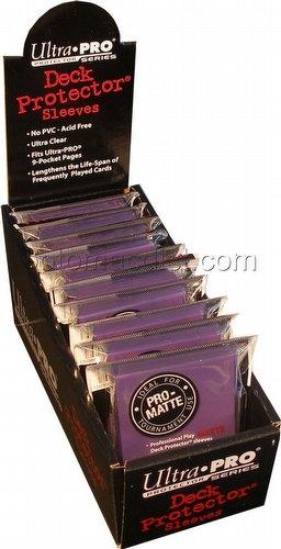 Ultra Pro Pro-Matte Yu-Gi-Oh Size Deck Protectors Box - Purple