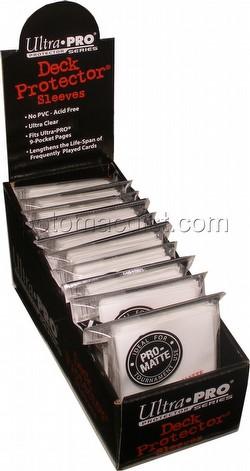 Ultra Pro Pro-Matte Yu-Gi-Oh Size Deck Protectors Box - White