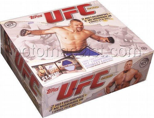 2010 Topps UFC Series 4 Trading Card Box [Hobby]