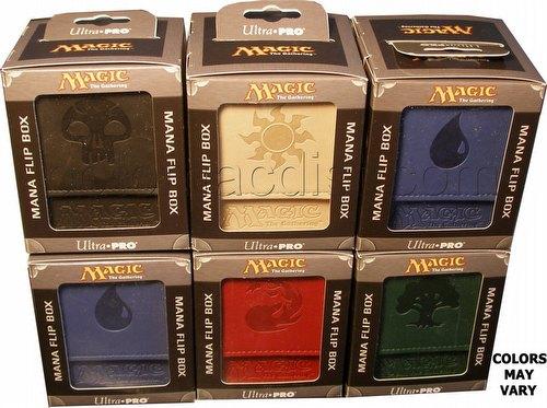 Ultra pro-deck box flip-Magic Mana-Gold