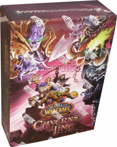 World of Warcraft TCG The Caverns of Time Raid Deck
