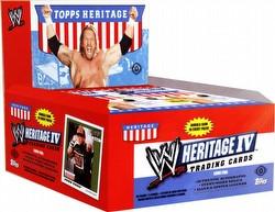 08 2008 Topps WWE Heritage Wrestling Cards IV Box [Hobby]