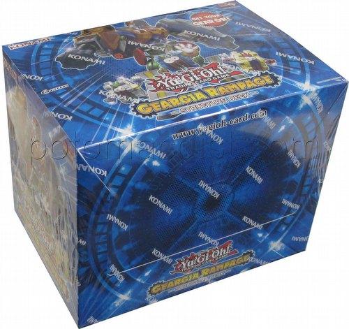 Yu-Gi-Oh: Geargia Rampage Structure Deck Box